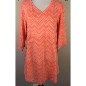 Merrell Tunic in size large L Swimsuit Coverup